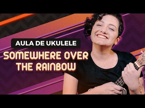 SOMEWHERE OVER THE RAINBOW - Israel Kamakawiwo'ole | COMO TOCAR UKULELE (aula 16)