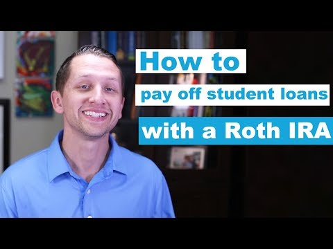 "<span class=""title"">How to pay off student loans with a Roth IRA</span>"