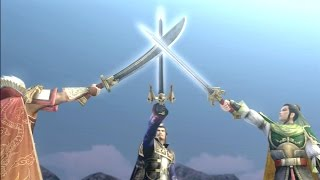 Dynasty Warriors: Strikeforce - All Cutscenes (English)