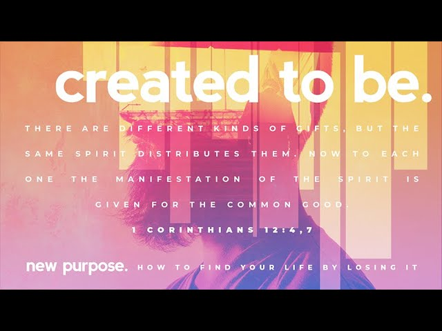 #NBUCchurch New Purpose: created to be. January 19th, 2020 - Duane Whittey