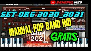 SET ORG 2020/2021 MANUAL POP BAND IND