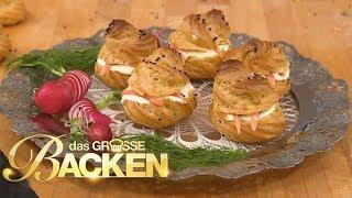 Herzhafte Kuchenklassiker - Teil 2 Erdapfelstrudel, Pancake-torte | Das große Backen 2017 | SAT.1 TV