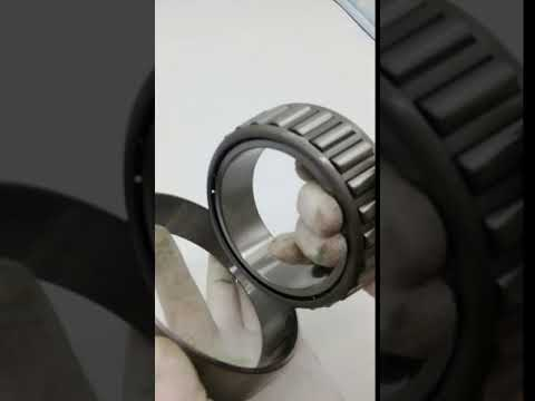 How to make taper roller bearing running smooth?