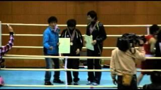 山崎静代選手の人柄を感じる式典後映像