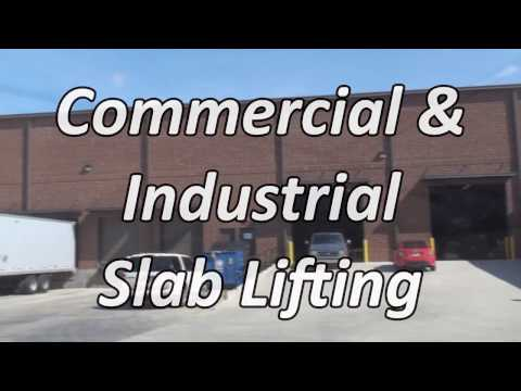 Commercial and Industrial Slab Lifting