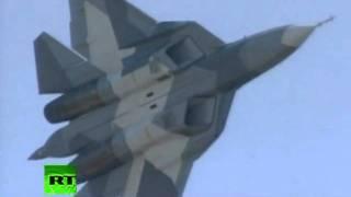 Espectacular vídeo de la presentación del T-50