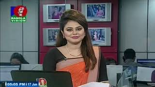 বিকেল ৫ টার বাংলাভিশন সংবাদ | Bangla News | 17_June_2019 | 05:00 PM | BanglaVision News