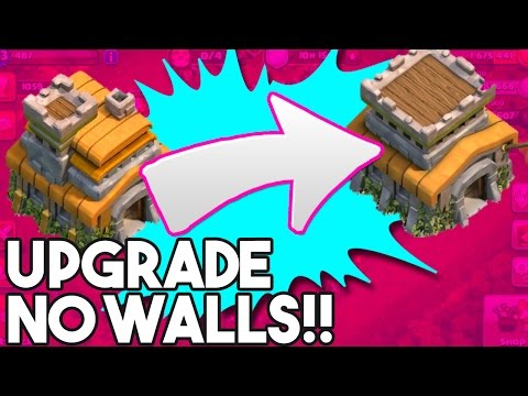 TH8 NO WALLS ACCOUNT -  Clash of Clans  - UPGRADING TH7 TO TH8   NO WALLS