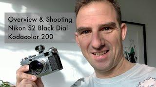 review & Shooting: Nikon S2 black Dial. Nikkor S-C 5cm F1.4