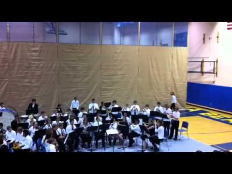 Tahoma junior high school band concert