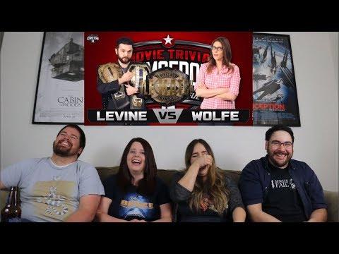 Samm Levine vs. Clarke Wolfe REACTION  Movie Trivia Schmoedown Championship