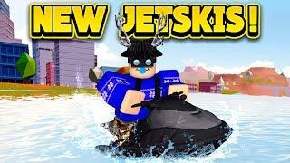 NEW JET SKIS NEXT UPDATE! (ROBLOX Jailbreak)