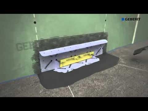 sifone  parete da incasso geberit duofix  combifix youtube