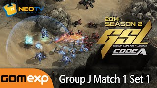 Code A Group J Match 1 Set 1, 2014 GSL Season 2