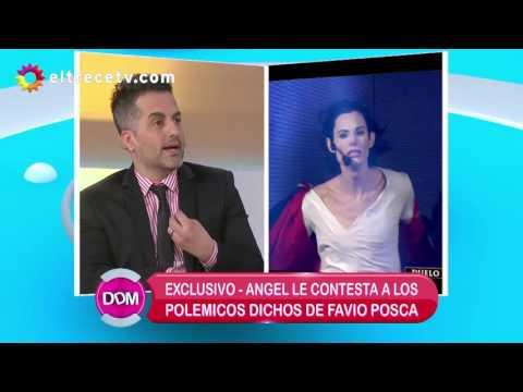 Ángel de Brito respondió a las duras declaraciones de Favio Posca en su despedida del Bailando
