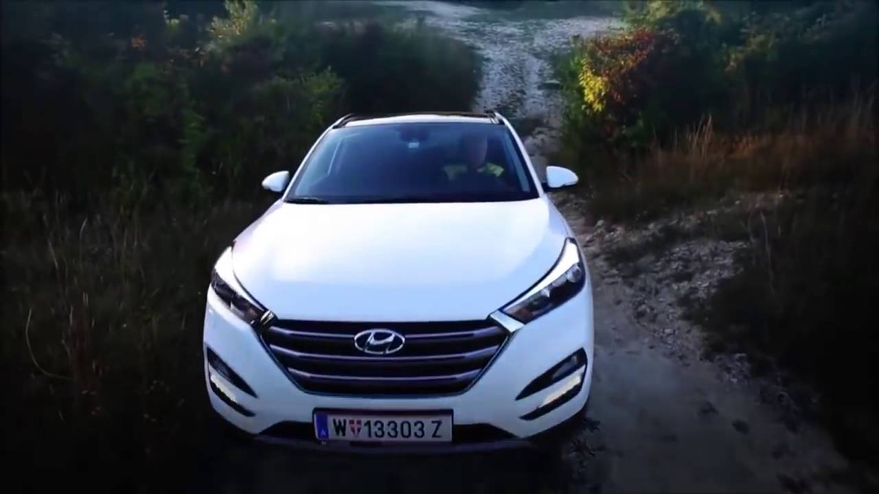2017 Hyundai Tucson Off Road Course Review Youtube