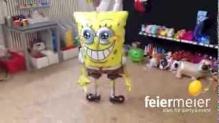Spongebob Airwalker Ballon von feiermeier.com