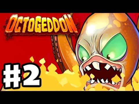 Octogeddon - Gameplay Walkthrough Part 2 - New York, Sydney, Tokyo, and Paris! (PC)
