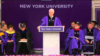 President William J. Clinton's Speech to Graduates at NYU's 2011 Commencement thumbnail