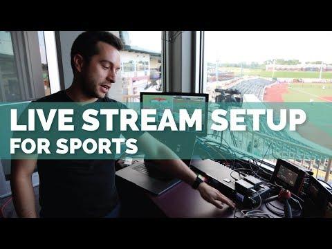 How To #livestream A Softball Or Baseball Game