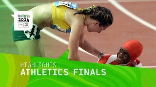 Men's And Women's Athletics Finals - Highlights | Nanjing 2014 Youth Olympic Games