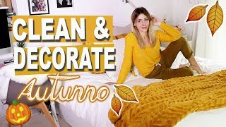 PULISCO CON VOI E DECORO TUTTA LA MIA CASA 🍁🎃 FALL CLEAN + DECORATE WITH ME !!!