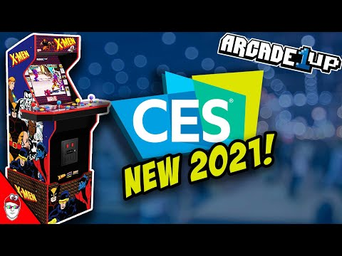 Arcade1up CES 2021 - X-MEN from Console Kits