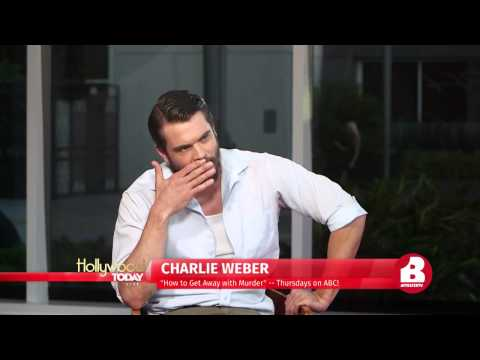 "Charlie Weber Talks ""How To Get Away With Murder"""