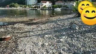 #Отдых. Июль 2019. Нудистский пляж в Игало. Херцег Нови. Черногория