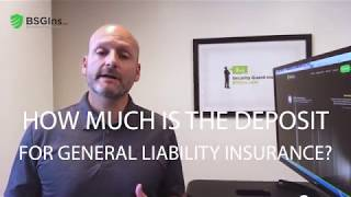 How Much is the Deposit for Security Guard Insurance?