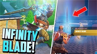 The INFINITY BLADE is BACK! (Sword Fight LTM Gameplay)