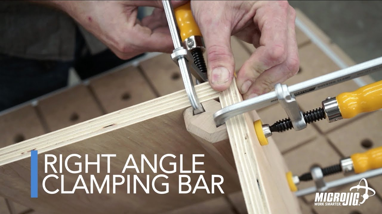 How To Clamp 90 Degree Miters Better And Tighter Youtube