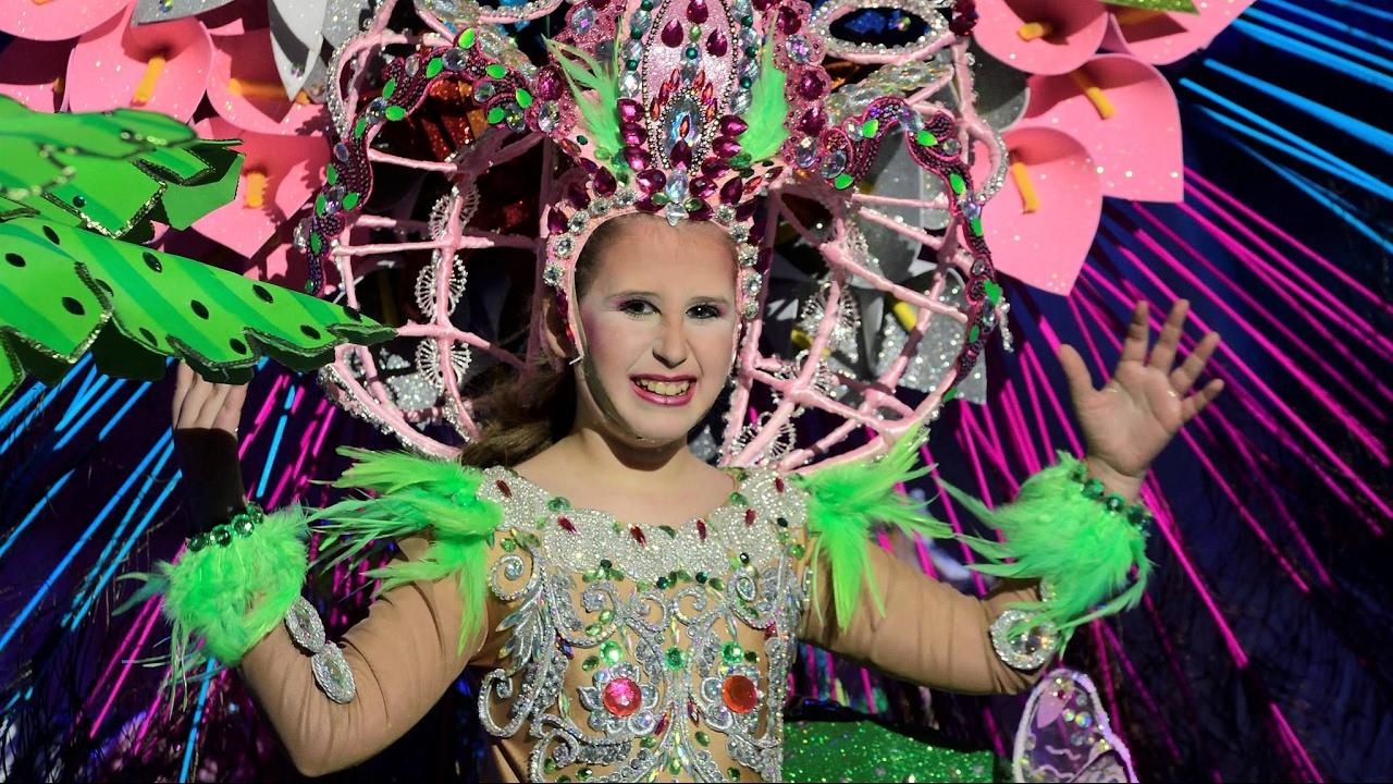 Fotos reina infantil carnaval las palmas de gran canaria 2017 youtube - Gran canaria tv com ...