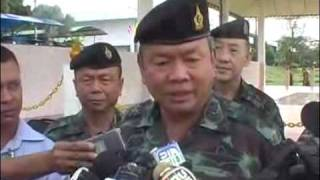 2010.01.28 Thai army based in Pattani, rallied to show their royalty to Army chief