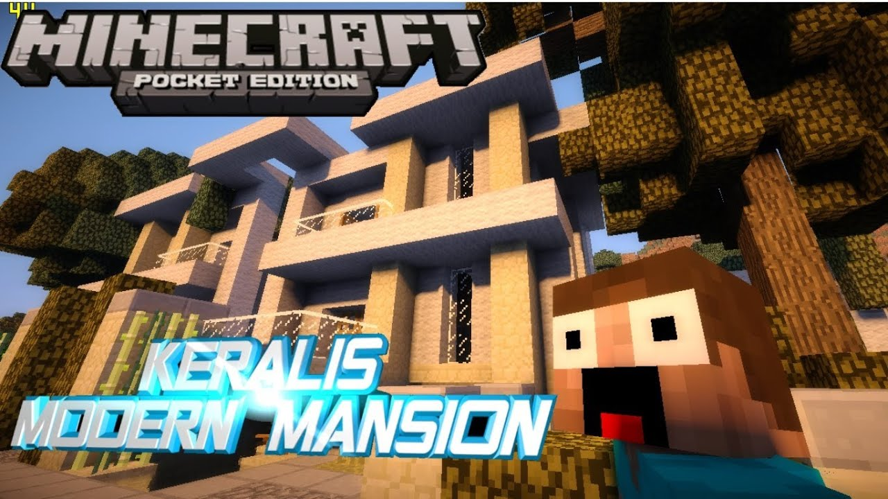 Minecraft pe keralis mansion download youtube gumiabroncs Gallery