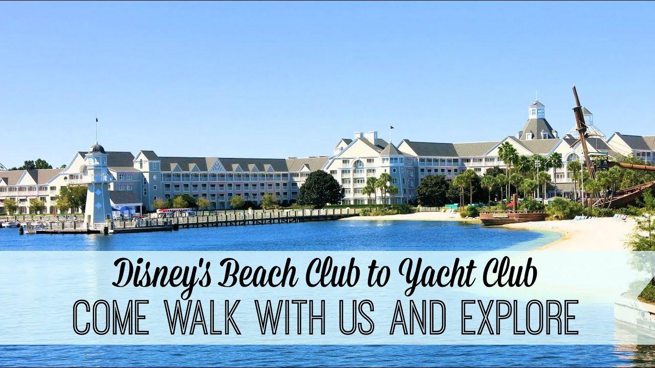 Beach Or Yacht Club Disney