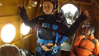 Первый прыжок с парашютом в тандеме