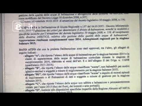 """Pescara - Forum H2o: """"Bagni da vietare già da maggio"""""""