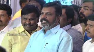 Thirumavalavan at Rajinikanth's Daughter Soundarya Wedding | Vishagan