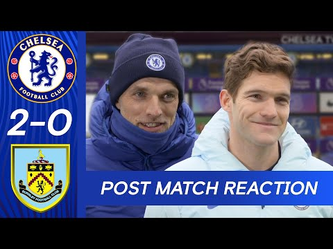 Thomas Tuchel & Marcos Alonso On Squad Performance + Getting Back To The Top | Chelsea 2-0 Burnley