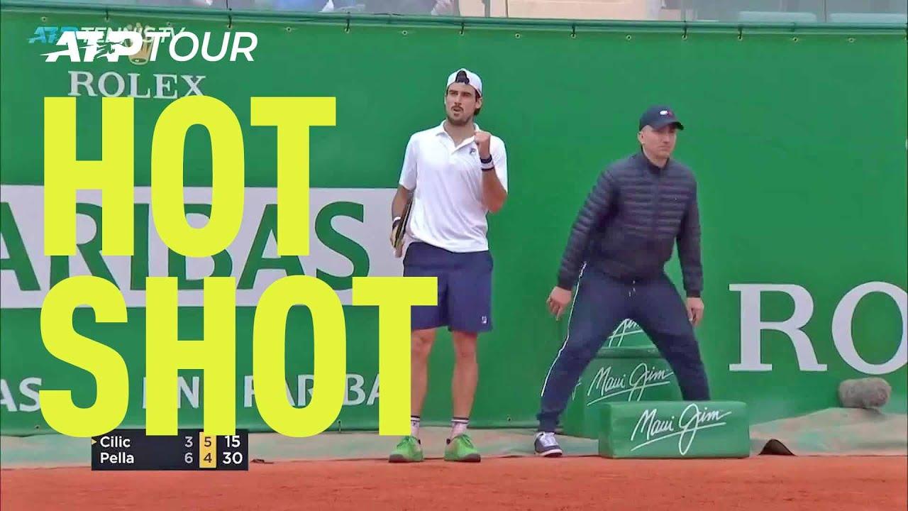 Hot Shot: Pella Perfectly Passes Cilic In Monte-Carlo