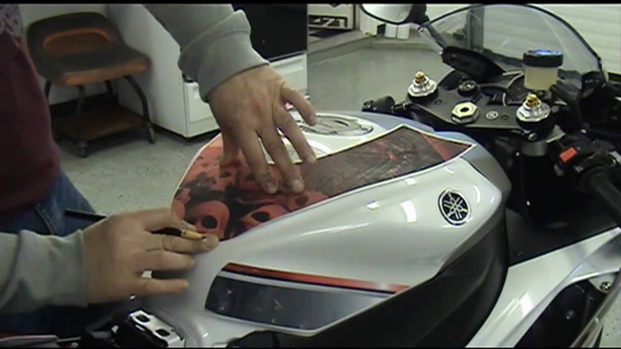 Auto Trim DESIGN Precut Motorcycle Graphic Installation HowTo - Decal graphics software