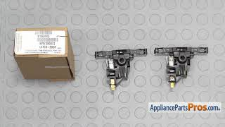 Dishwasher Door Latch Assembly (Part #WPW10404412) - How To Replace