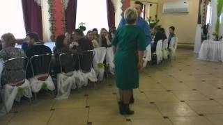 Почётные сваты зажигают на свадьбе