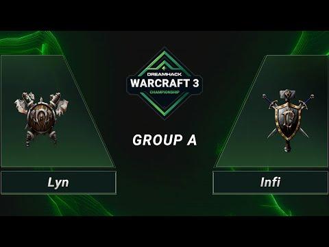 WC3 - Lyn vs. Infi - Group A - DH 2020 Regional Championship - Asia