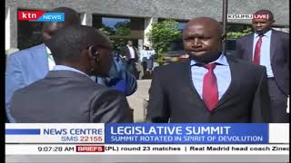 President Uhuru to open legislative summit, DP Ruto and Raila to address the summit in Kisumu