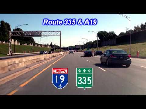 Route 335, Autoroute 19 & De la Concorde overpass collapse