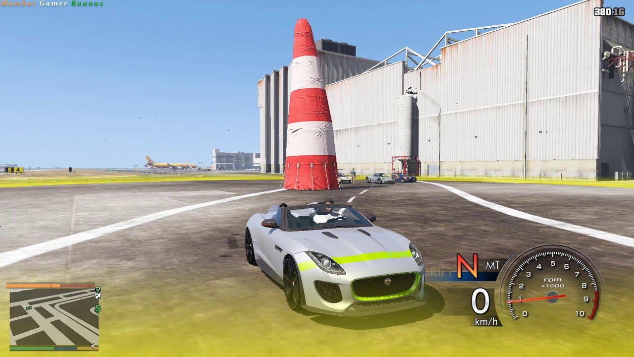 Gta 5 Racing Jaguar Hindi #45  Mumbai Gamer Raunax 23:02 HD