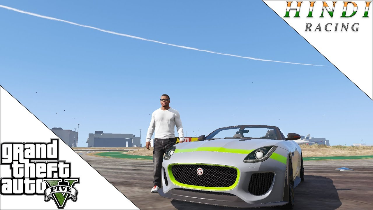 Gta 5 Racing Jaguar Hindi #45  Mumbai Gamer Raunax 23:02 HD