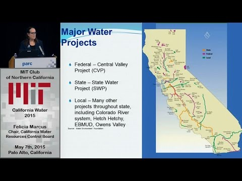 California Water 2015 - Felicia Marcus, Chair, California Water Resources Control Board